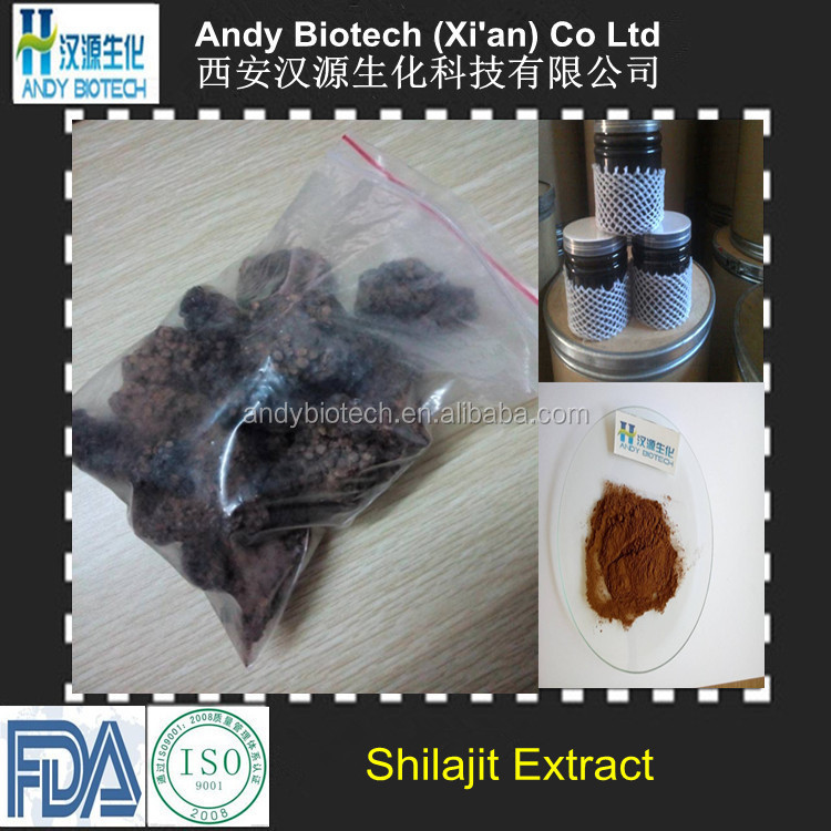 100% Pure Natural Water Soluble 60% Fulvic acid Shilajit Extract