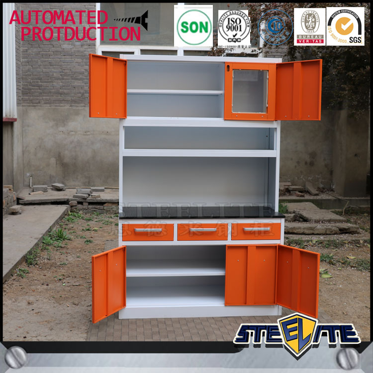 China Made Stainless Steel Kitchen Cabinets Price/ Kitchen