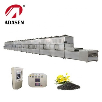 New products conveyor belt microwave roasting machine for rapeseed