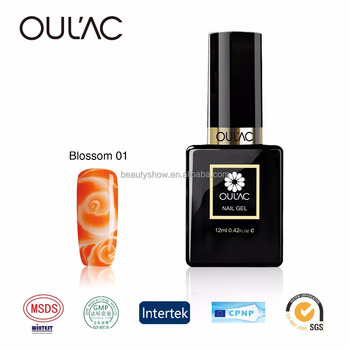 2017 OULAC New products high quality charming blossom gel nail polish, private lable nail polish