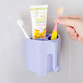 2017 New Hot Bathroom Sets, Antibacterial Wall Mounted Kids Toothbrush Holder