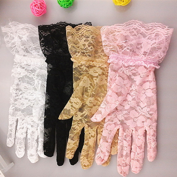 WholeSale Stock Small Order Creative Sunblock Fitness Sports Lace <strong>Glove</strong>