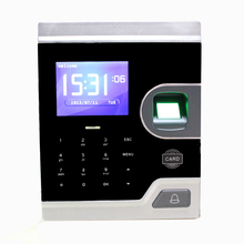 2.8 inch TFT LCD biosystems fingerprint time clocks system with OEM software