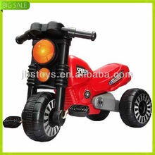Popular selling plastic toy kids pedal motorcycle with high quality