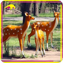 KANO0728 Garden Decoration Realistic Life Size Outdoor Deer Statue