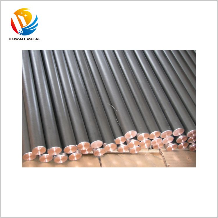 New product various size stainless steel clad earthing copper bar