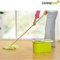Electrostatic mop for cleaning
