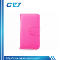Folio Leather Case for s5,Super soft case for samsung galaxy s5 with good touch feeling