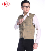 Workwear vests color for you selection workwear has multi pockets