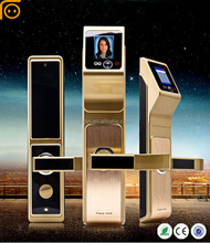 Face Recognition Intelligent Camera Door Lock,Europen Standard Mortise Lock