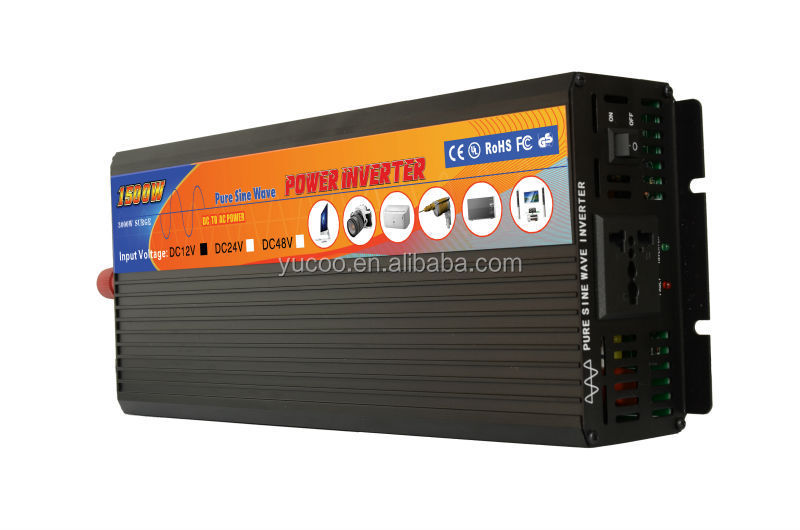 power manufacturer 48vdc 1500w dc ac inverter for cars