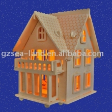 European Villa B Wooden Toy