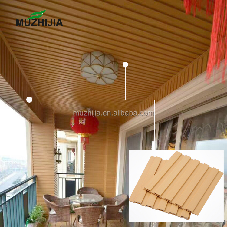 150mm Modern pvc ceiling tiles wpc panel ceiling for wooden designs
