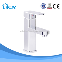 Unique Cold and hot water metal bathroom accessory faucet