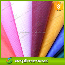 60 gsm colorful factory price pp spunbond non-woven fabric rolls used for greenhouse groud cover,fabric nonwoven textile
