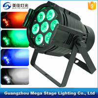 mini led spot light stage lighting rgbw 4in1 10w 7pcs par light