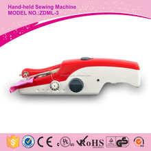 ZDML-3 mini electric domestic handheld portable sewing machine