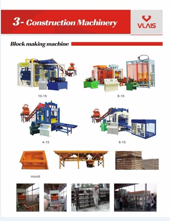 QT4-26A automatic brick making machine