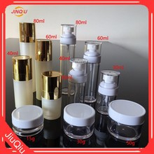 2017 NEW product PETG cosmetic lotion bottle/lotion plastic pump bottle/ sprayer cream bottle