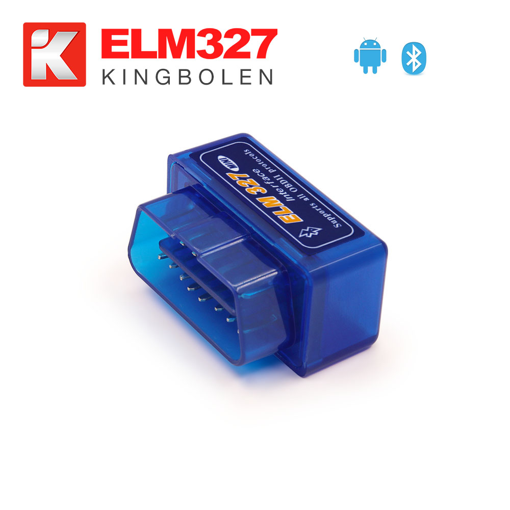 V1.5 Super MINI ELM327 Bluetooth ELM 327 V 1.5 25k80 Chip OBDII For Android Torque / PC Car Code Scanner