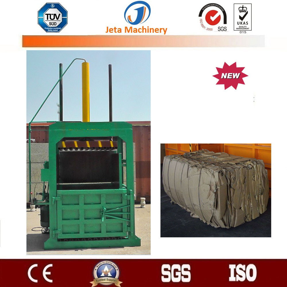 [JT-DB200B]China semi automatic vertical hydraulic waste paper baling machine