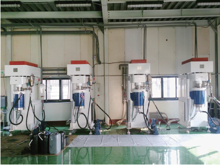 DCD200 nano bead mill for nano coating and painting