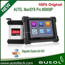 original autel maxisys pro update online obdii autel ms908p with all of necessary adaptors for 1996 & newer vehicles
