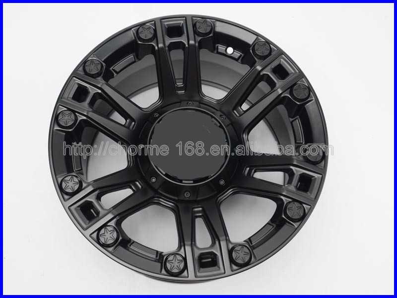 Hot sale alloy wheels for jeep wrangler car accessories made in China Maike