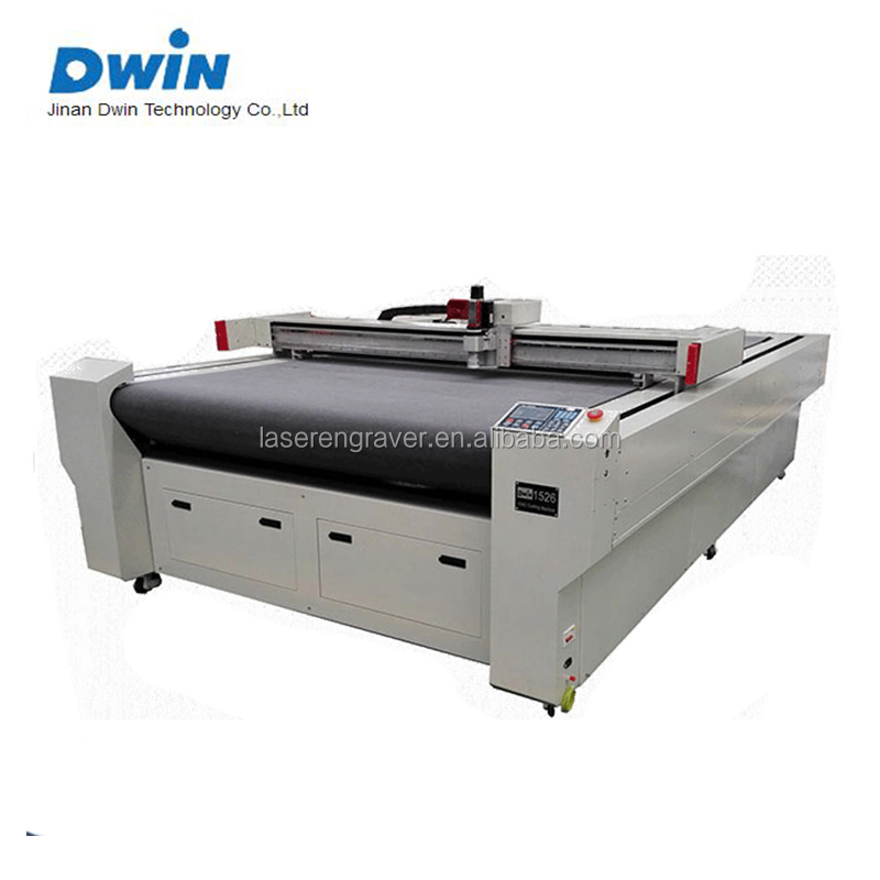 Paper Fabric Leather PU Paper Box CNC Vibrating Knife Cutting machine