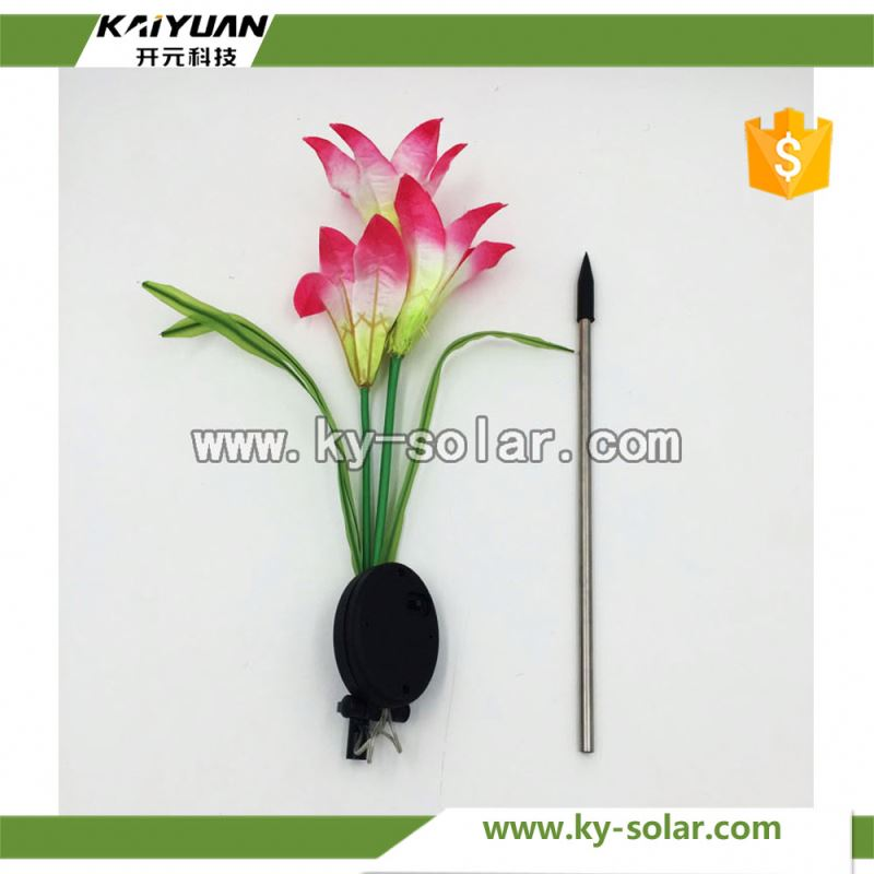 Solar Garden Light Outdoor lily flower light