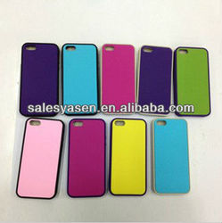 Mobile phone rubber coating case for iphone 5