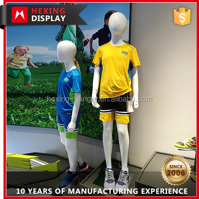 Fashion Fiberglass Children Mannequin Boy Dress Model