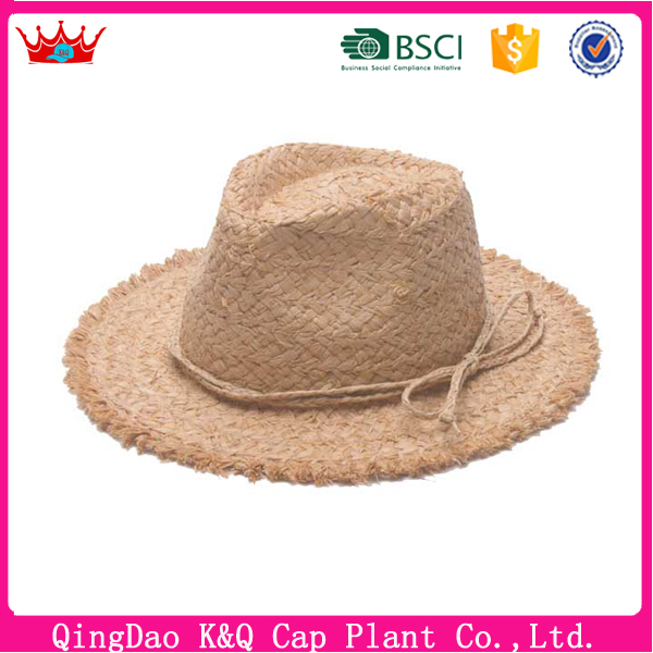 2017 new design and popular and competitive price wholesale straw hats China