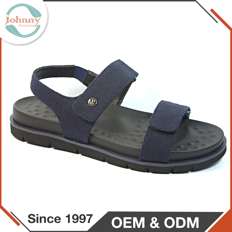 Latest New Design Spring PU Lining Insole Unique Elegant Sandals For Men