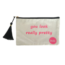 Customized Promotional Multi function 10 oz Canvas Cosmetic Bag