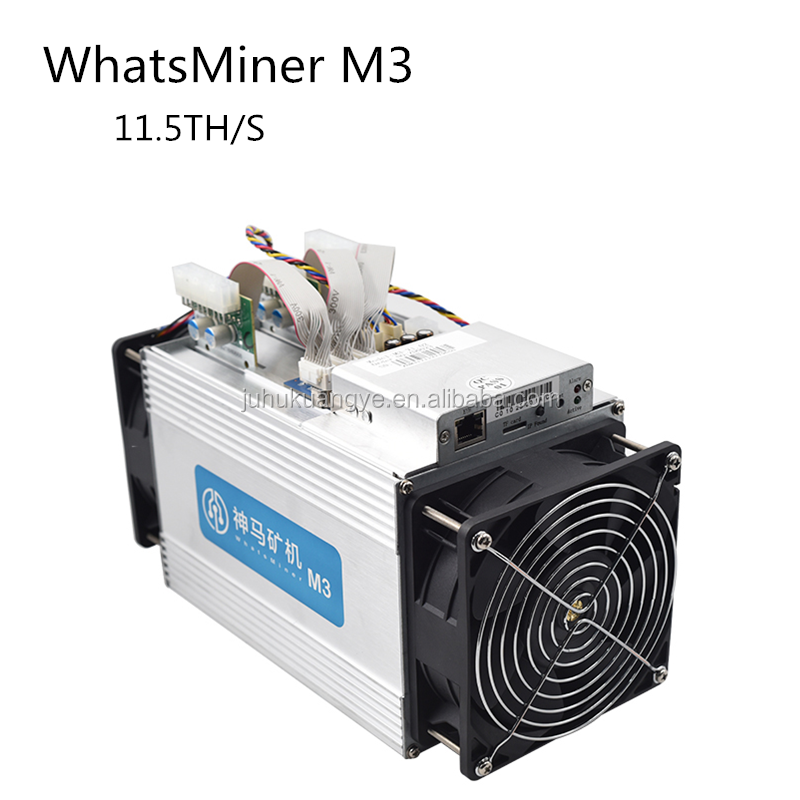 New packaging11.5TH/S fastest speed WhatsMiner M3 Mininng machine for Bitcoin miner with 2100W power supply