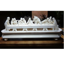 Famous Religious Stone Jesus Statue White Marble Statue Sculpture