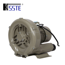 China electric 2.2kw vaccum centrifugal side channel air suction blower