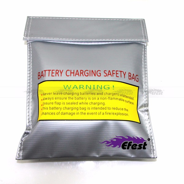 high quality 18650 battery bag Safety charging bag for Efest batteries