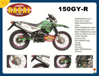 150GY-R Chinese made dirt bikes,150cc hybrid bike motorcycles,kids used dirt bikes