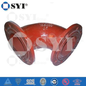 ISO2531/EN545/EN598/GB13295 Ductile Iron Flanged Fittings