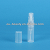 2ml key ring perfume plastic bottle