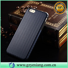 Custom Cell Phone Shell For iPhone 6 Plus Carbon Fiber Skin Case
