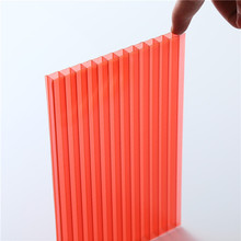 Factory manufacture 2wall polycarbonate sheet manufacturer / 3 wall polycarbonate roofing sheet