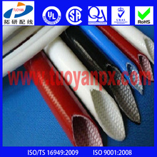 High Temperature Silicone Resin Fiberglass Sleeve