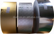 sliver and gold Laminated aluminium foil paper