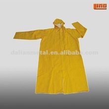 yellow rain poncho with sleeves