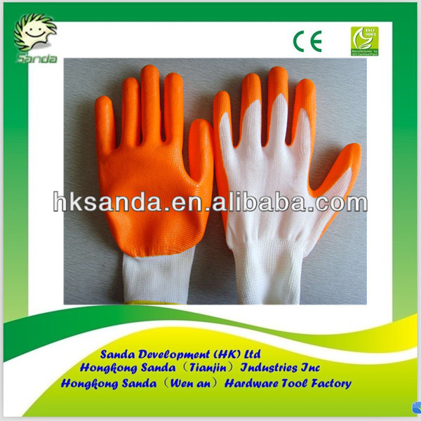 nitrile nylon gloves