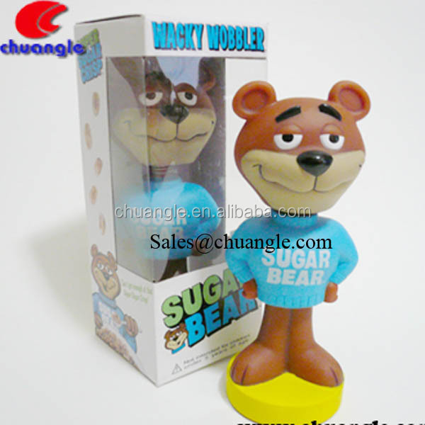 Animal Bobble Head ,Bear Bobble Head , Dashboard bobble head