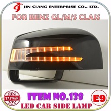 Auto parts LED Signal Light Guide SIDE LAMP For Mercedes BEN Z M CLASS